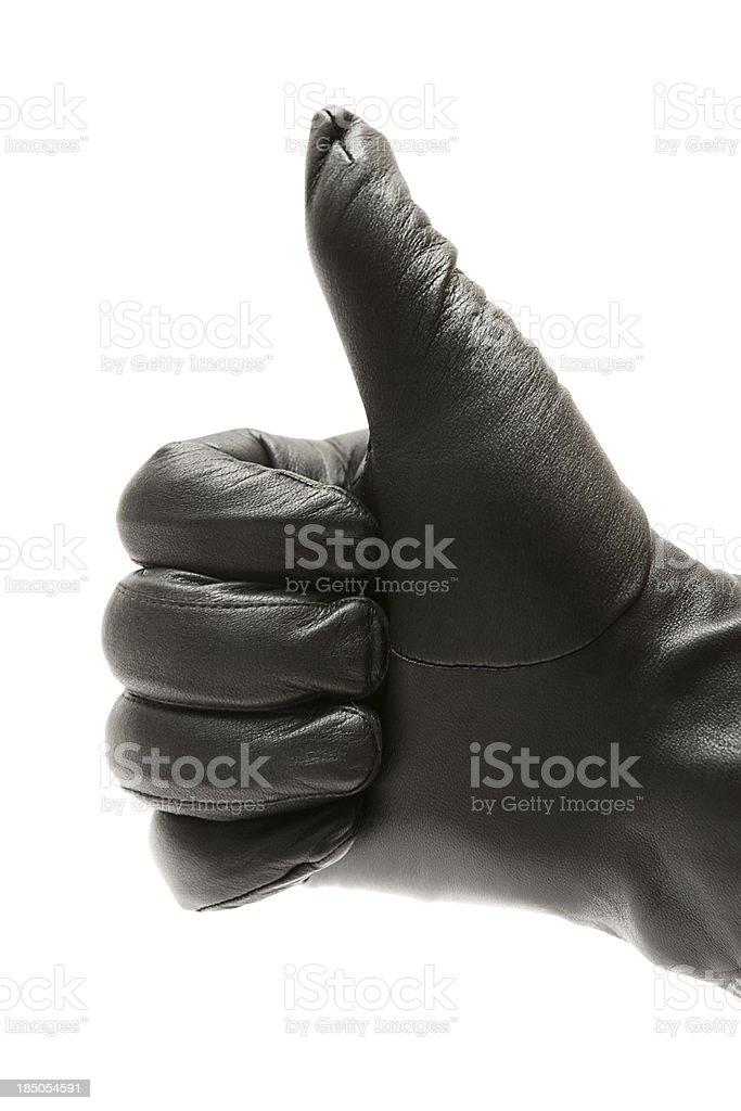 Giving Thumbs Up stock photo