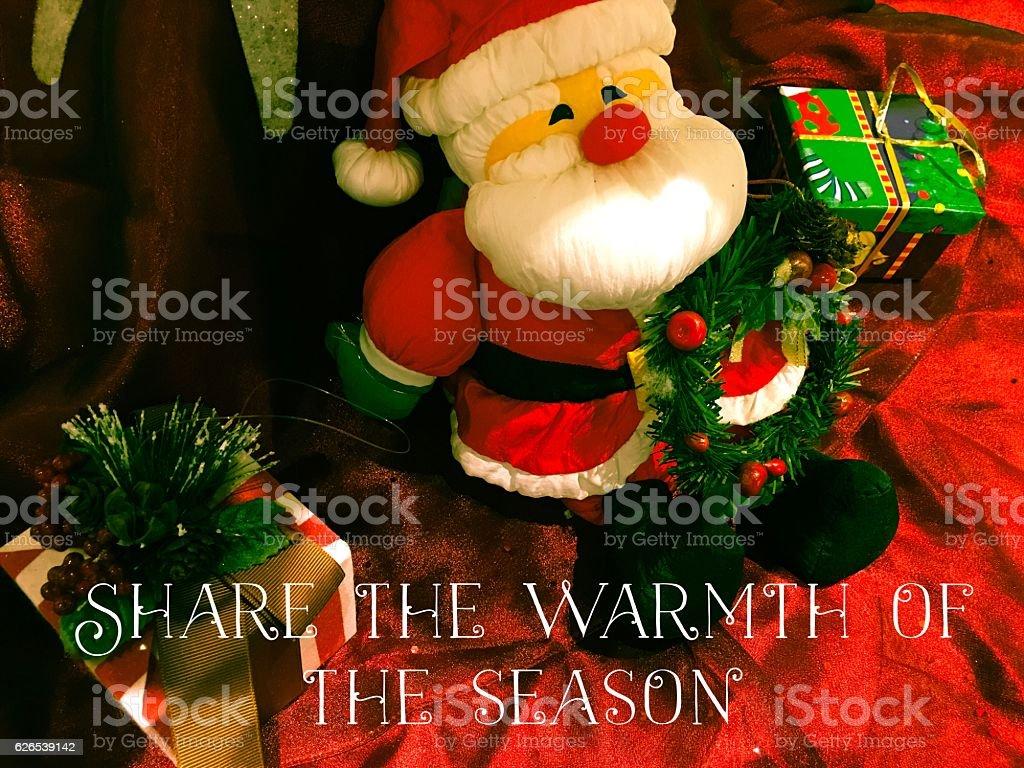 Giving Tuesday Holiday Season Giving Christmas Card stock photo