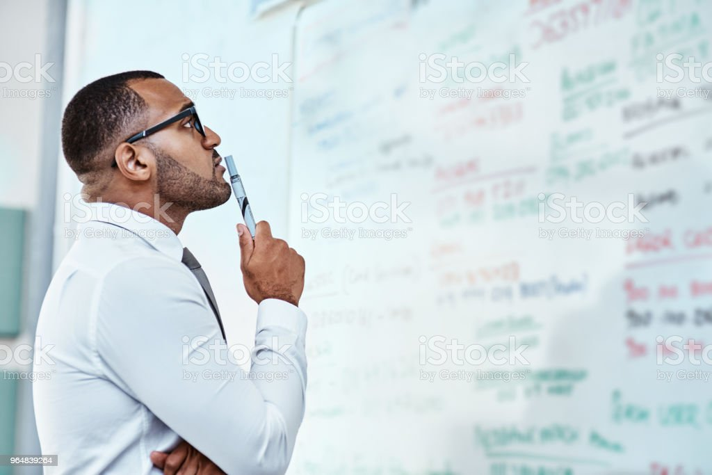 Giving up is never a part of the plan royalty-free stock photo