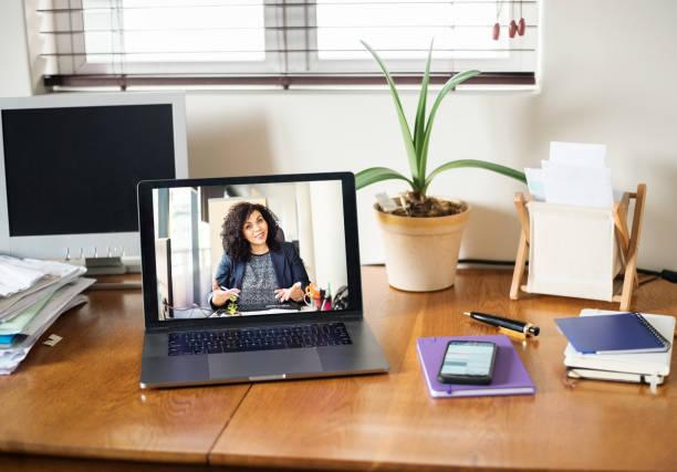 Virtuelle Beratung – Foto
