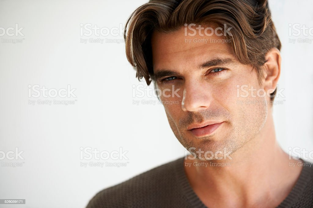 Giving you a sensual stare stock photo