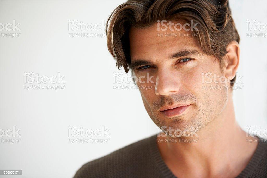 Giving you a sensual stare stock photo