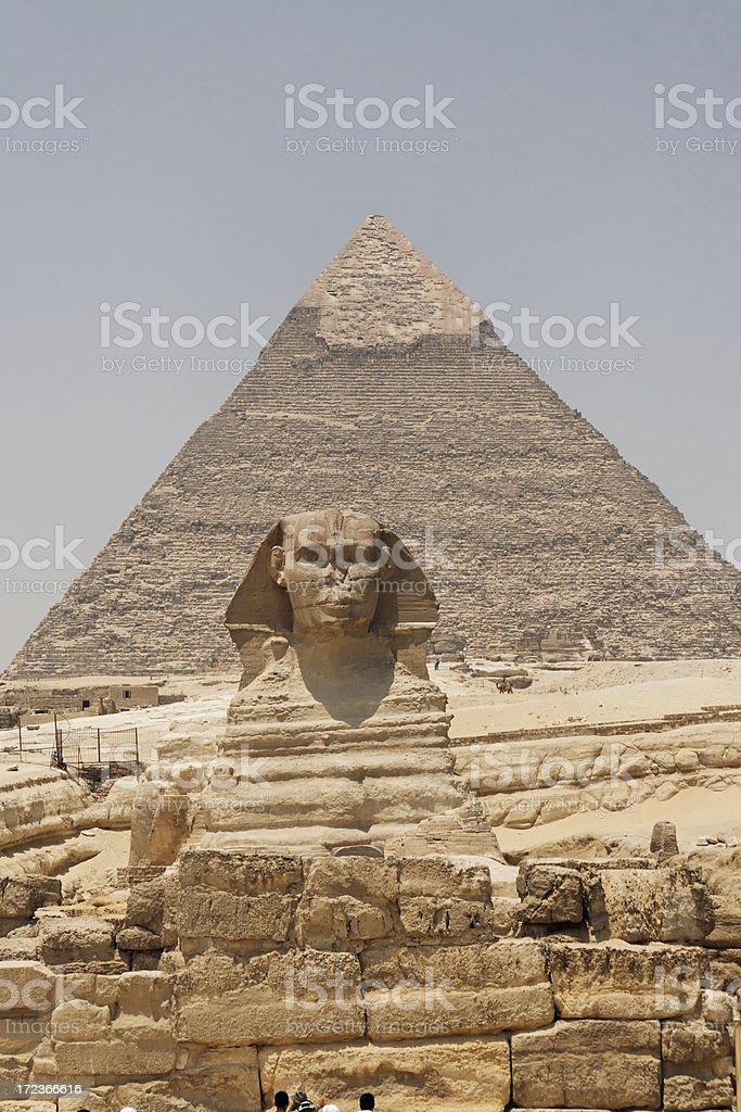 Giza monuments royalty-free stock photo