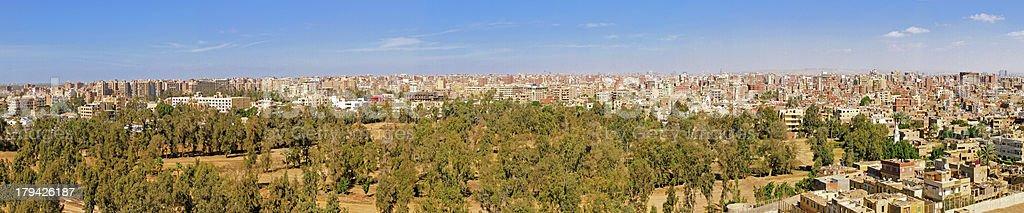 Giza Panorama royalty-free stock photo