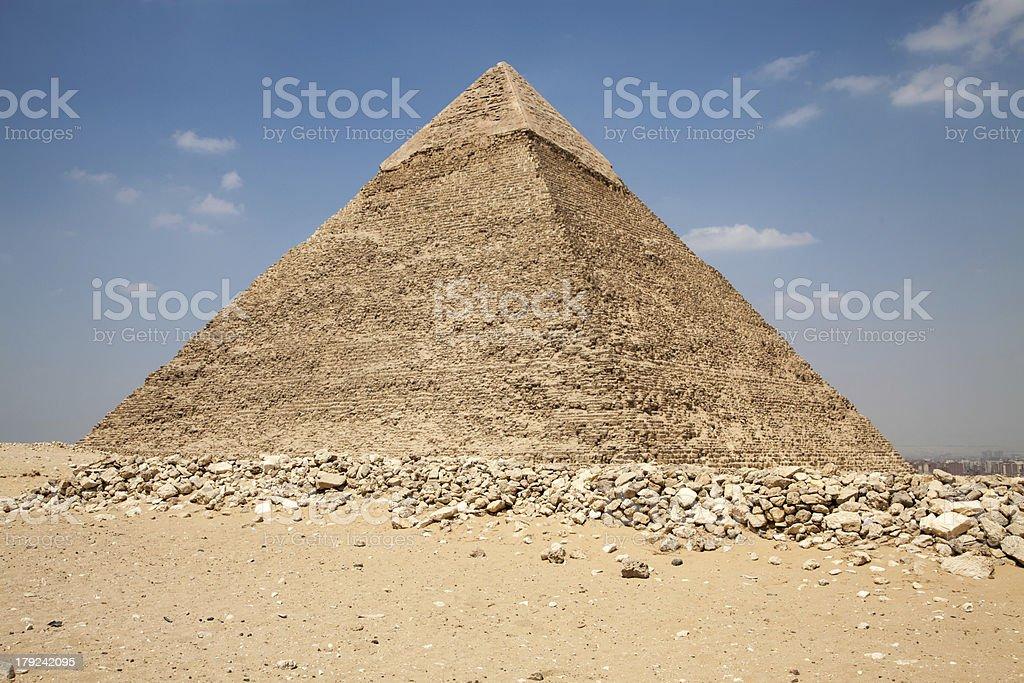 Giza pyramids royalty-free stock photo