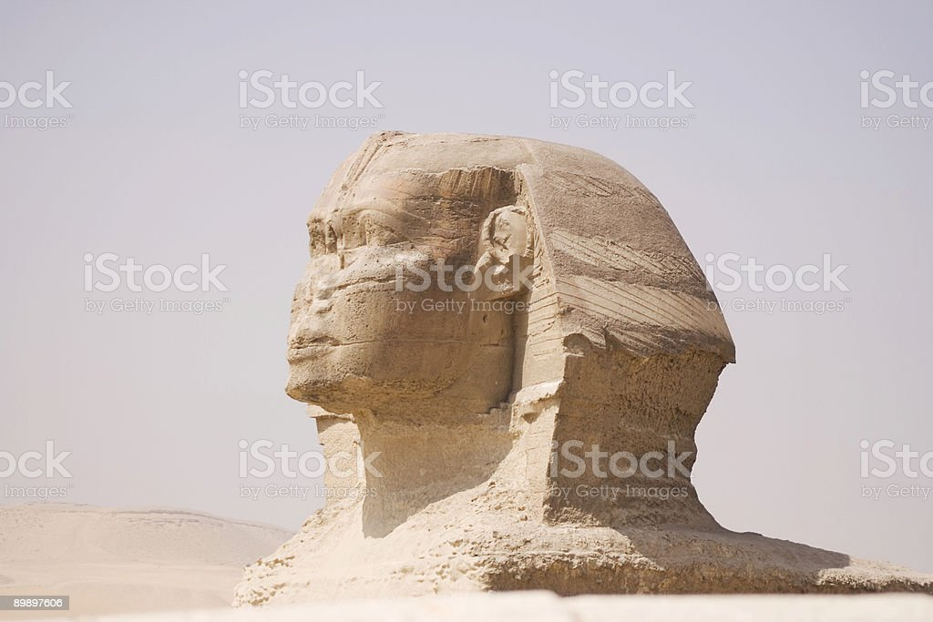 Giza Sphinx royalty-free stock photo