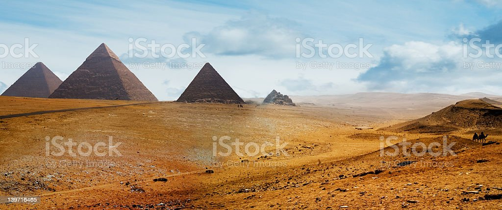 Gizah royalty-free stock photo