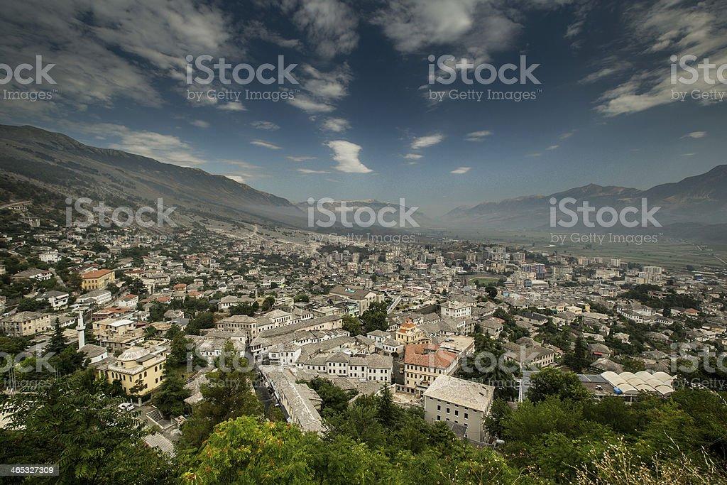 Gjirokastra, Albania stock photo
