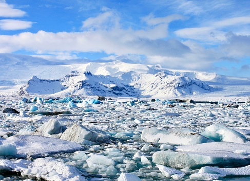 Glacial Lagoon Stock Photo - Download Image Now