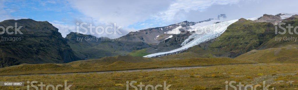 Glacial Panorama stock photo