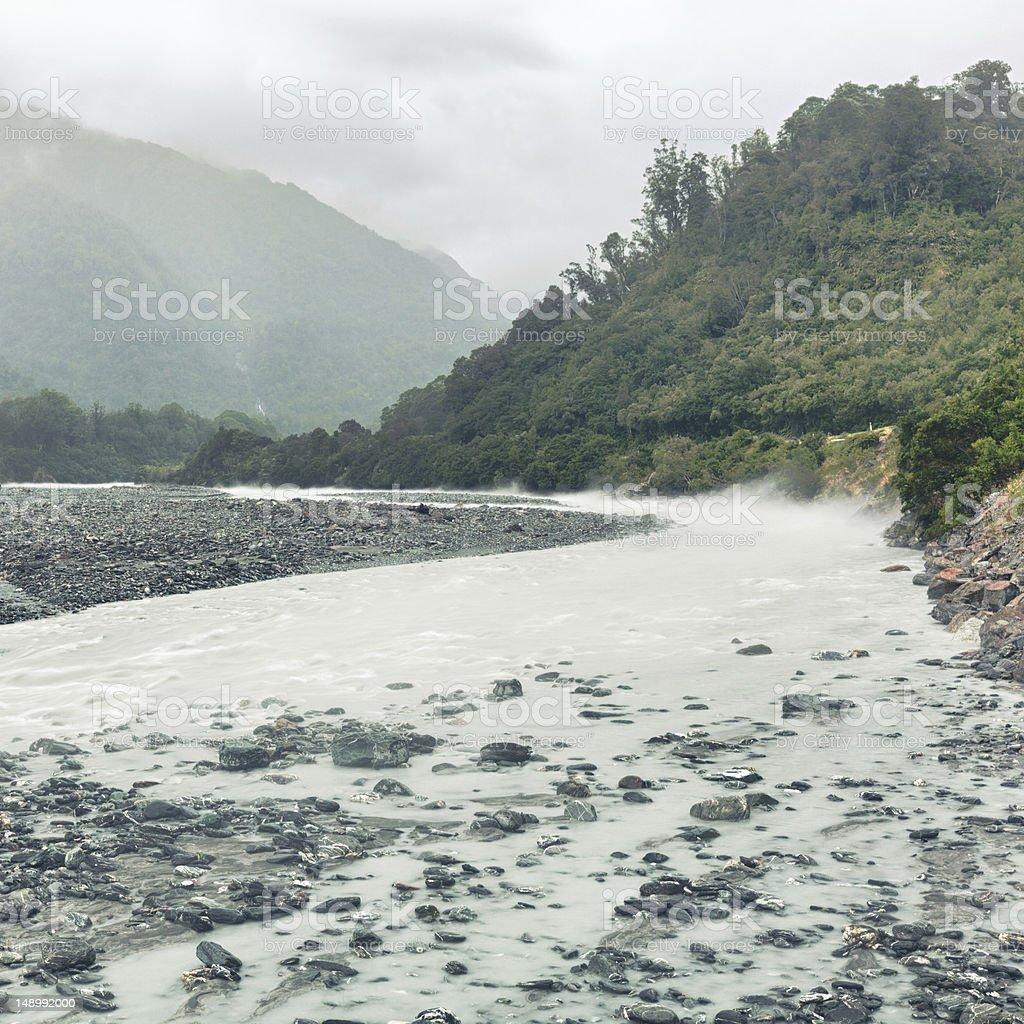 Glacial river royalty-free stock photo