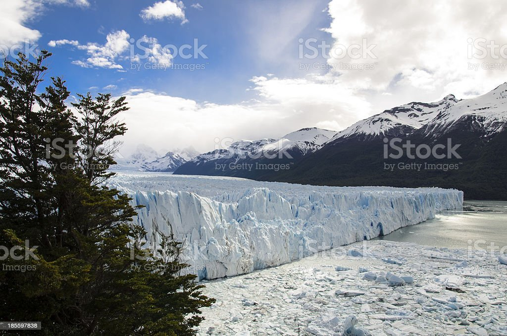 Glaciar Perito Moreno III royalty-free stock photo