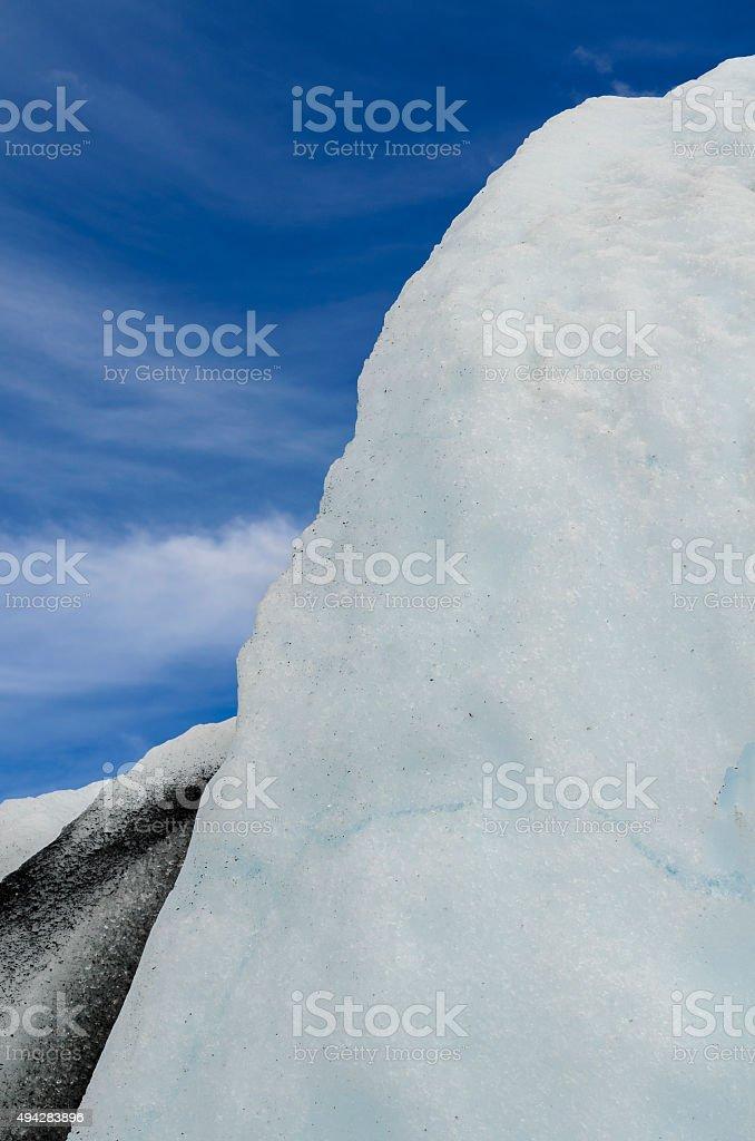 Glacier Abstract stock photo