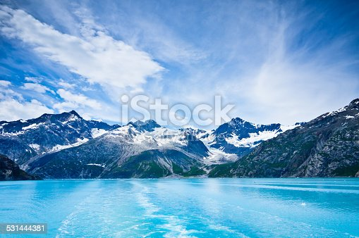 istock Glacier Bay in Mountains, Alaska, United States 531444381