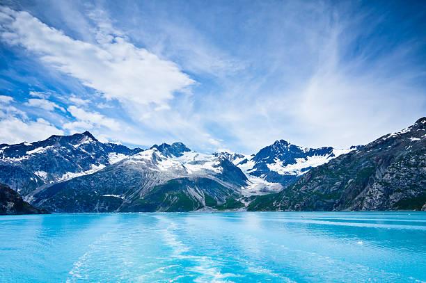 빙하 베이 산맥, 알래스카항공, 미국 - 빙하 뉴스 사진 이미지