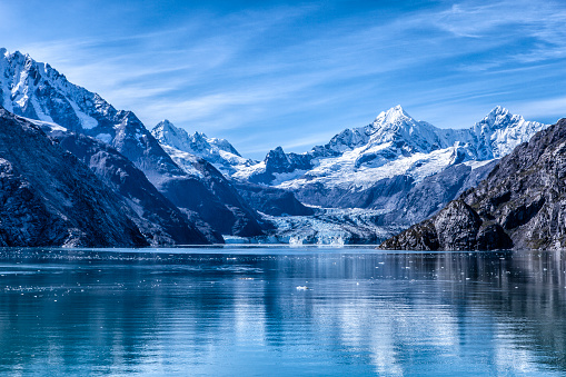 West of Juneau, AK, Glacier Bay NP is a national monument and UNESCO World Heritage Site.