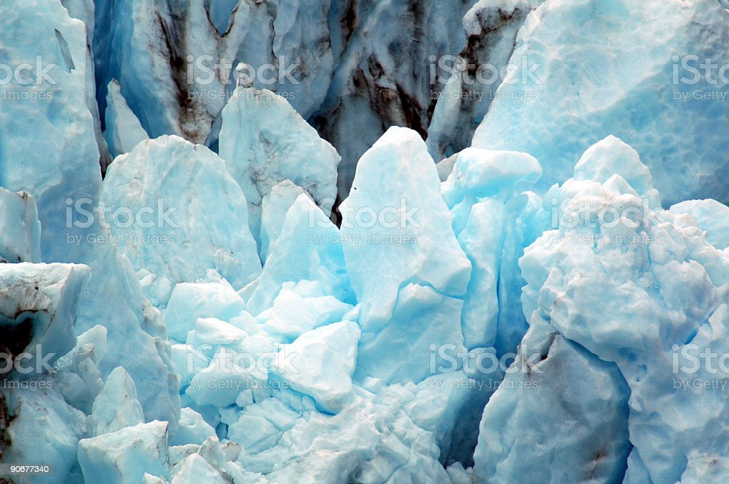 Glacier Closeup royalty-free stock photo
