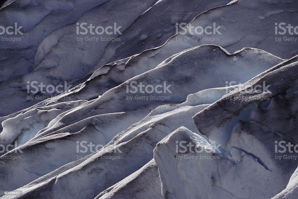 Glacier Detail royalty-free stock photo