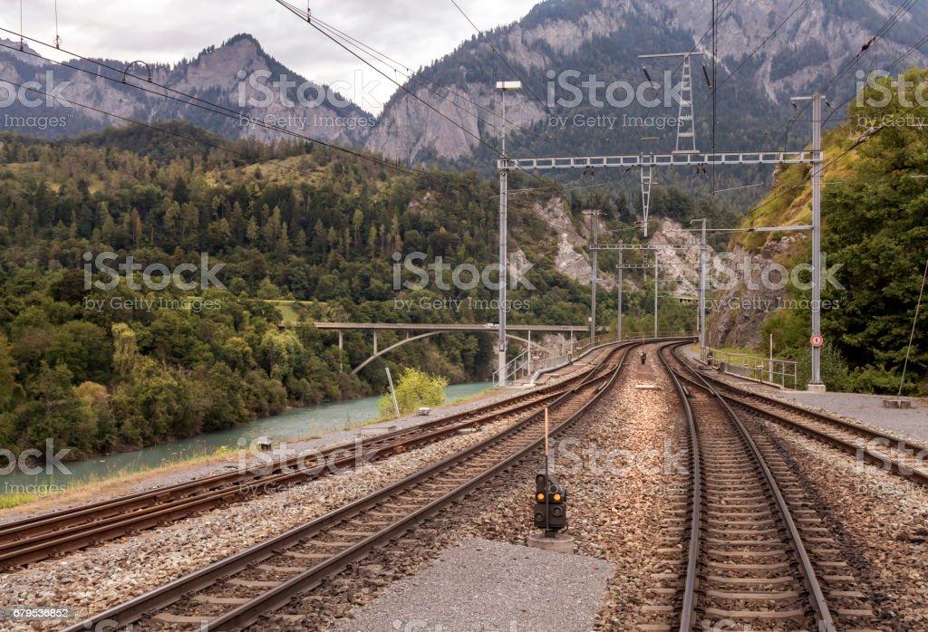 Glacier - Express royalty-free stock photo