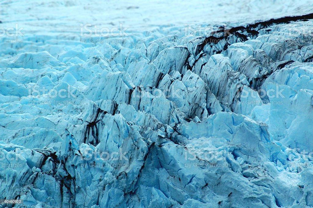 Glacier Formation royalty-free stock photo