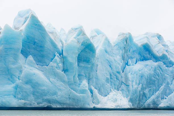 빙하 그레이 칠레에 있는 - 빙하 뉴스 사진 이미지