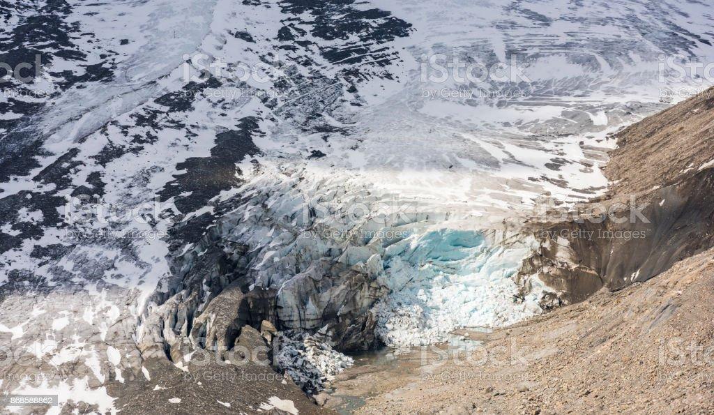 Glacier Grossglockner stock photo