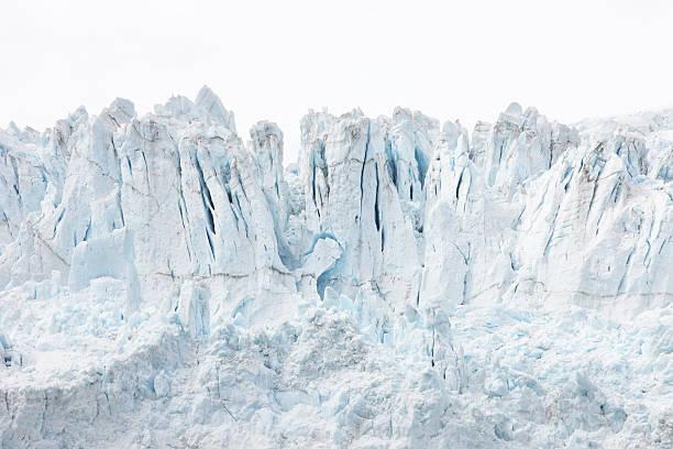 Glacier Ice Snow Crevasse Serac Ridge - foto de stock
