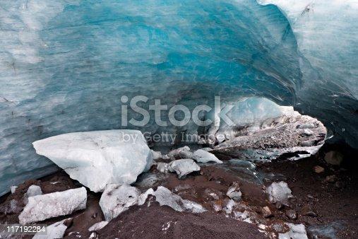 istock Glacier Ice Tunnel 117192284