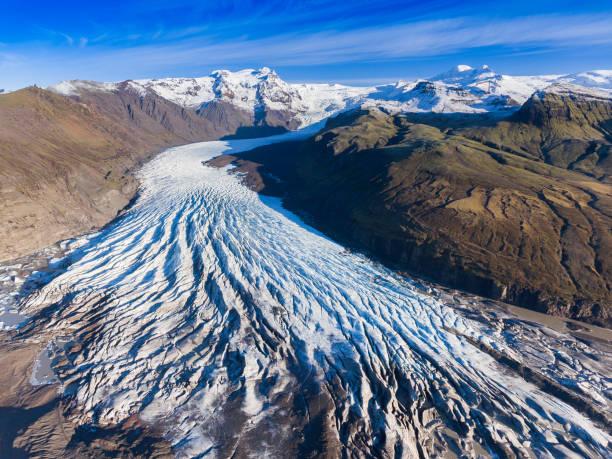 빙하 아이슬란드 - 빙하 뉴스 사진 이미지