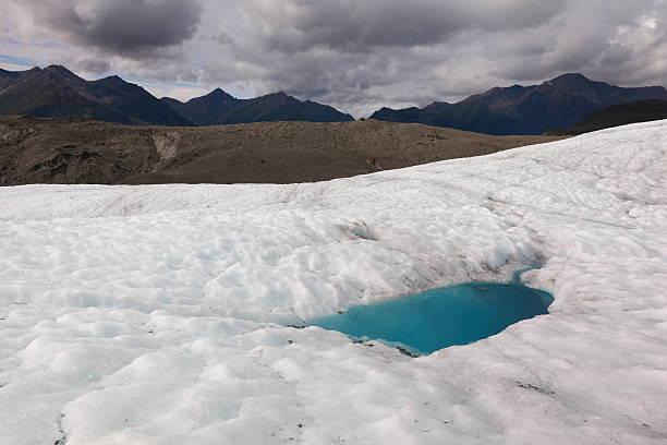 glacier in alaska - isvak bildbanksfoton och bilder