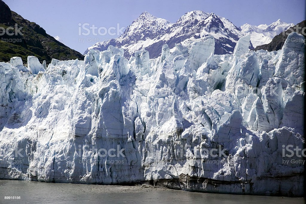 Glacier, no Alasca foto de stock royalty-free