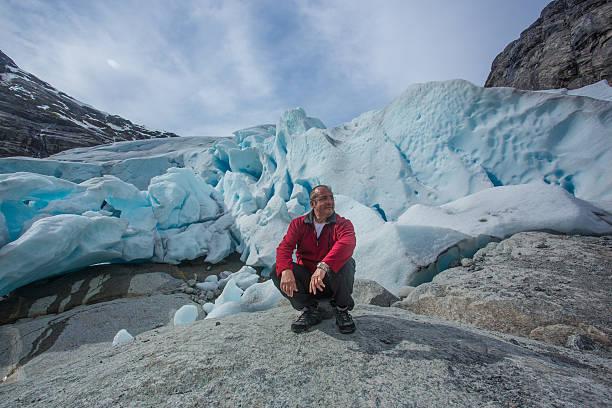 Gletscher in Norwegen – Foto