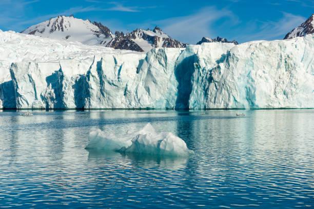 Gletscher im Norden Fjorde, Spitzbergen, Svalbard-Archipel, Arctica – Foto