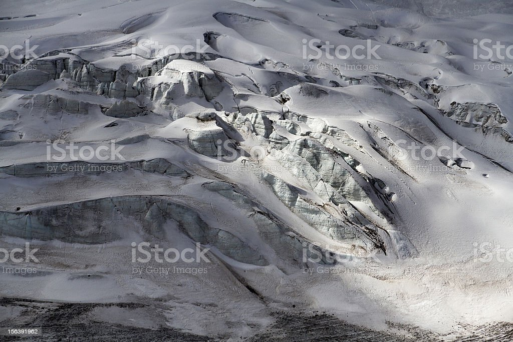 Glacier in the Andes royalty-free stock photo