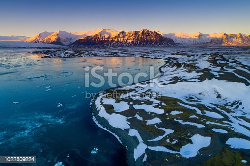 istock Glacier lagoon 1022809224