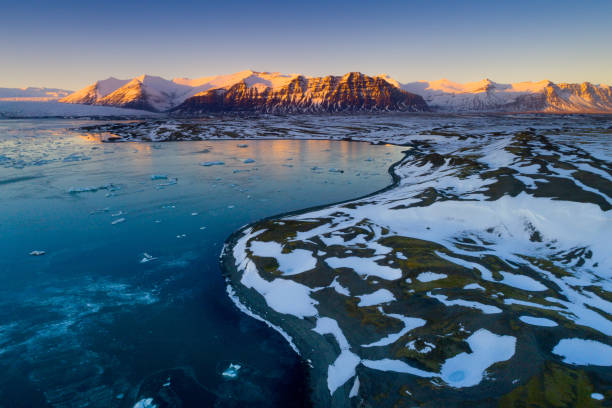 Glacier lagoon Glacier lagoon jokulsarlon stock pictures, royalty-free photos & images