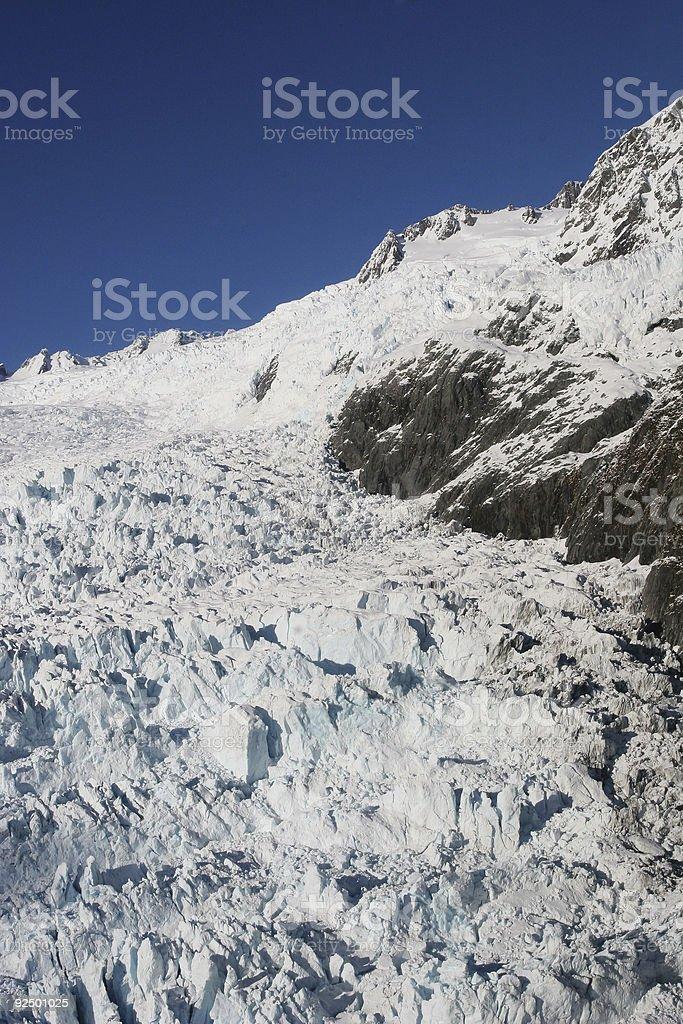 Glacier Mountain royalty-free stock photo