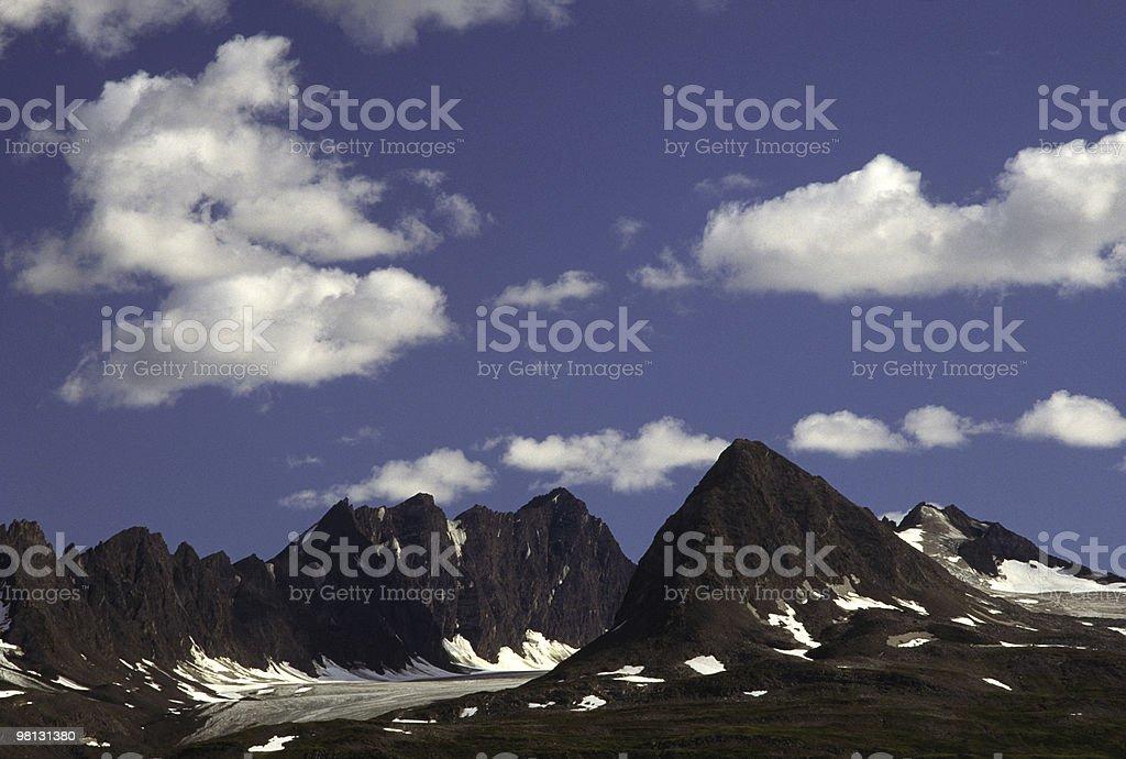 Glacier Mountains royalty-free stock photo