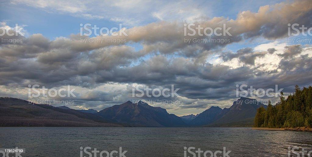 Glacier National Park - Lake McDonald royalty-free stock photo