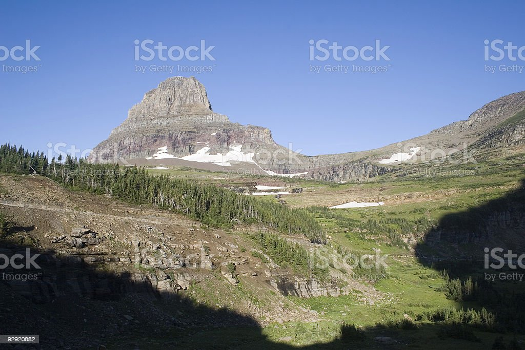 Glacier National Park, Montana royalty-free stock photo