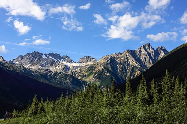 glacier national park of canada - british columbia glacier national park stock pictures, royalty-free photos & images