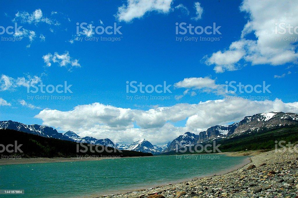 Glacier National Park royalty-free stock photo