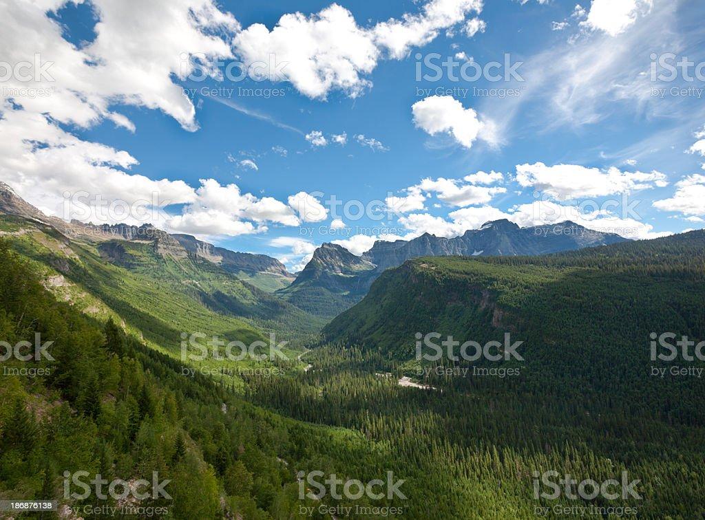 Glacier National Park, USA royalty-free stock photo