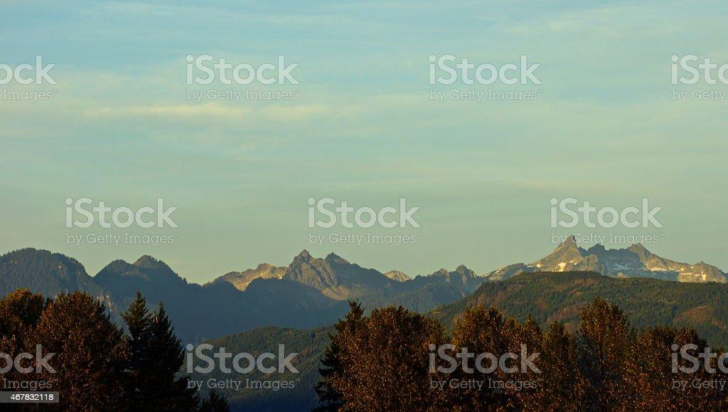 Glacier Peak Wilderness stock photo