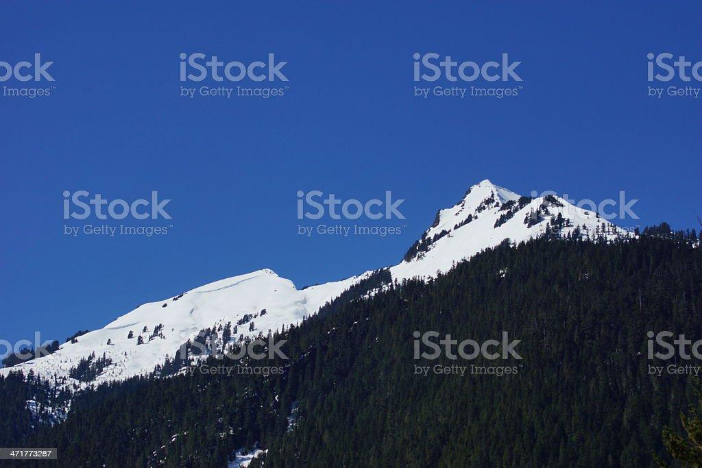 NW Glacier Peak Wilderness royalty-free stock photo
