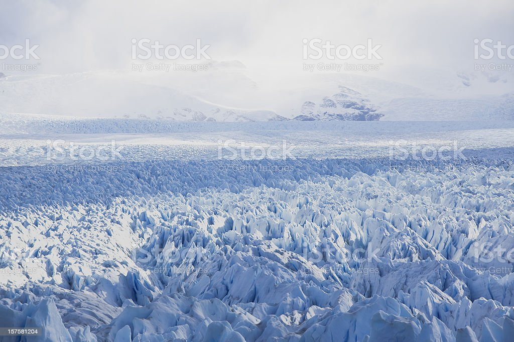 Glacier Perito Moreno National Park in Argentina, Patagonia stock photo