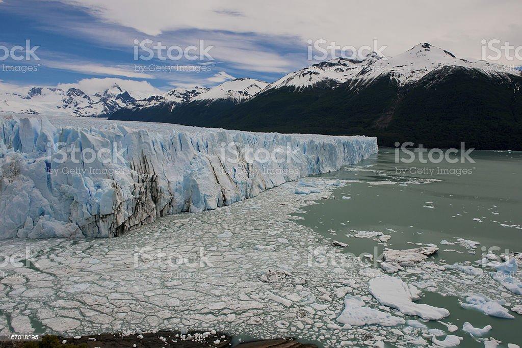 Glacier Perito Moreno - Royalty-free Andes Stock Photo