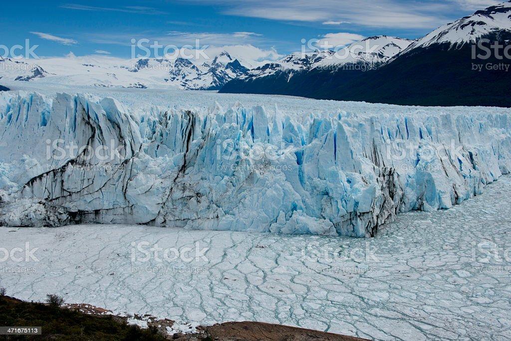 Glacier Perito Moreno royalty-free stock photo