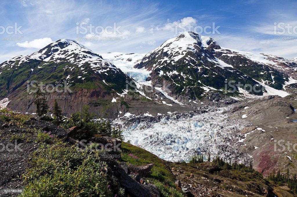 Glacier stock photo