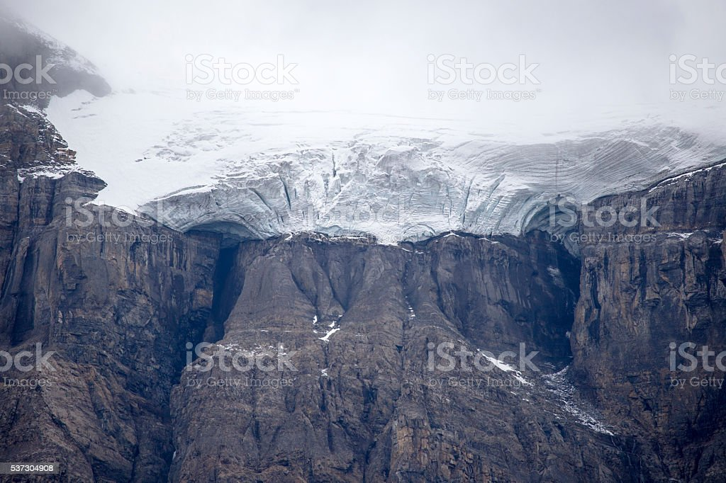 Glacier stock photo